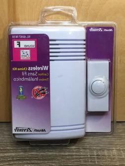 Heath Zenith Wireless Door Chime Kit White SL-6147-WH Doorbe